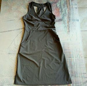 Lola light gray summer small racerback dress